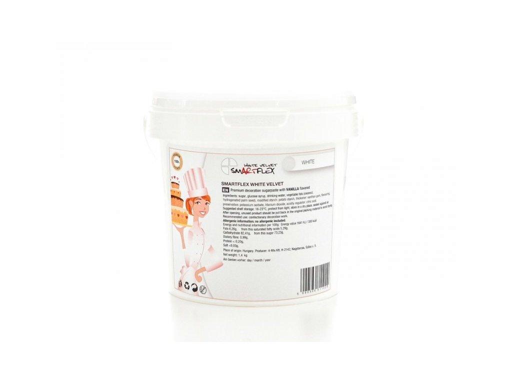 Smartflex Velvet Vanilka, WHITE 4kg