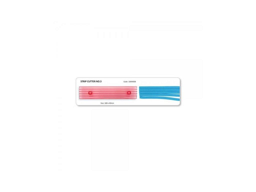 Vykrajovátko proužky JEM č.3 (7mm)