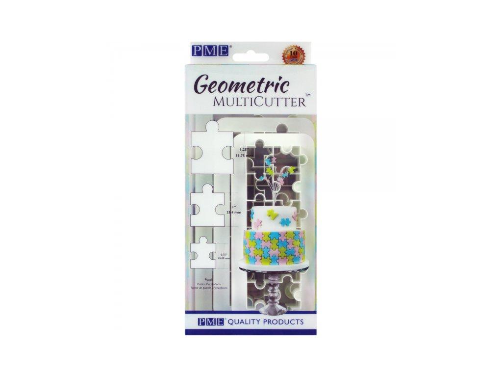 Geometric Multicutter puzzle, 3ks