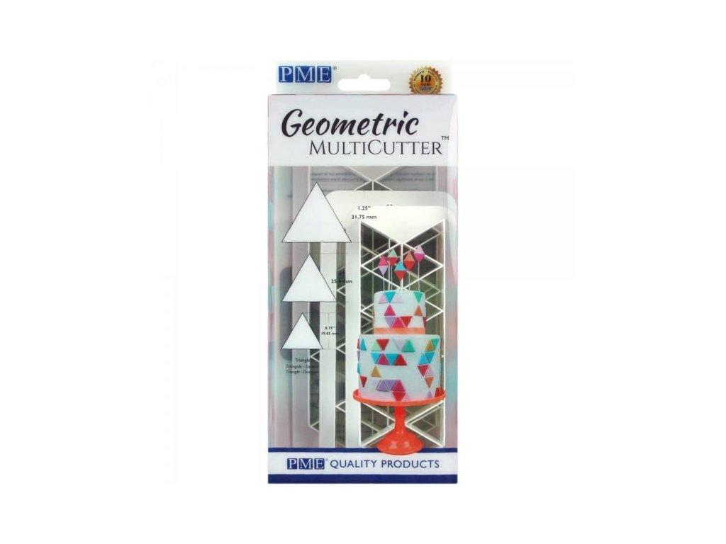 Geometric Multicutter trojúhelníčky, 3ks