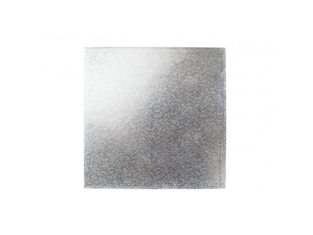 "Pevná stříbrná podložka, 12mm, 33x33cm (13"")"