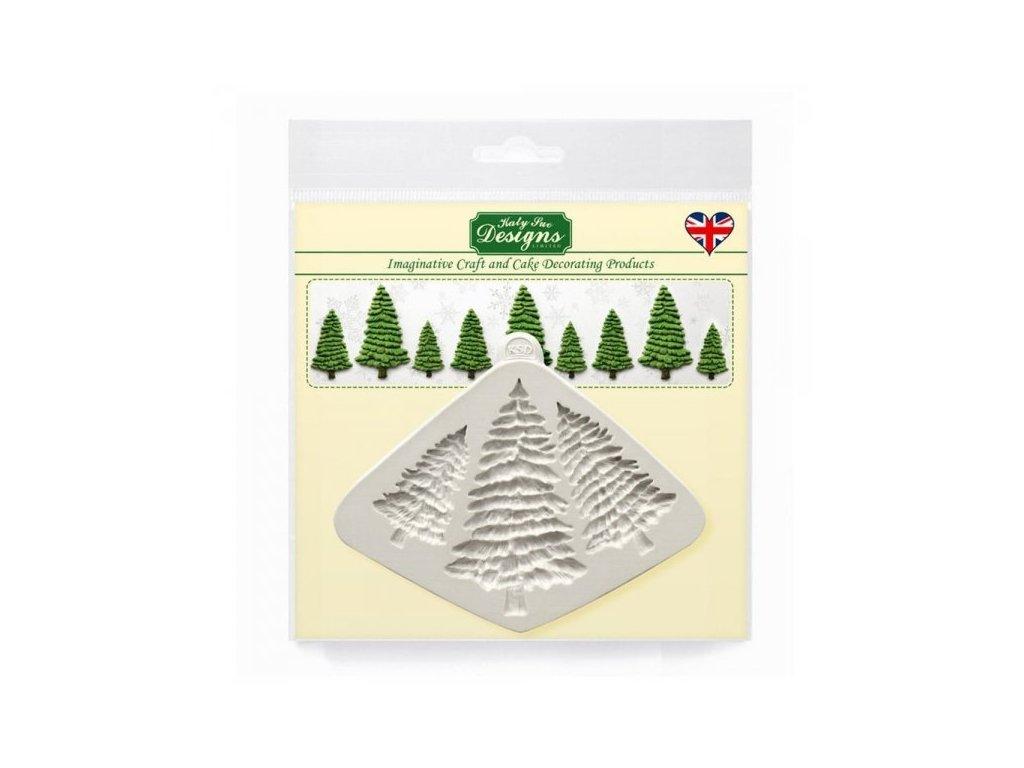 Katy Sue silikonová formička Fir Trees