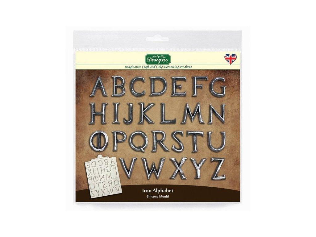 Katy Sue silikonová formička Iron Alphabet