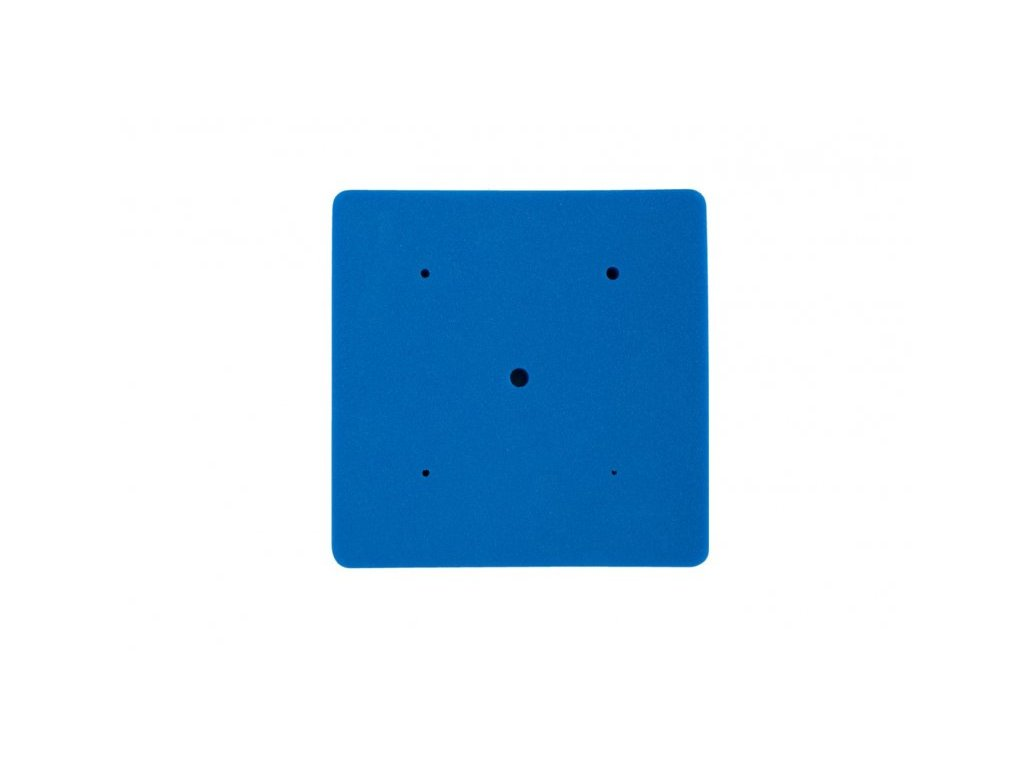 PME Ztenčovací pěnová podložka s otvory modrá
