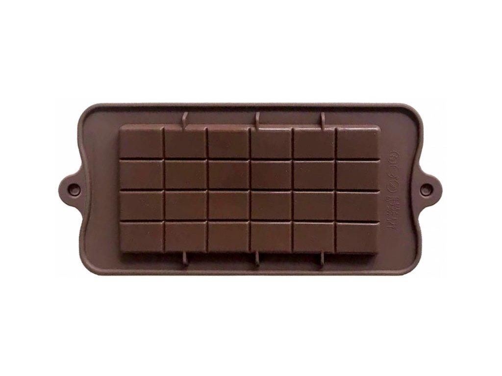 Silikonová podložka na tabulkovou čokoládu