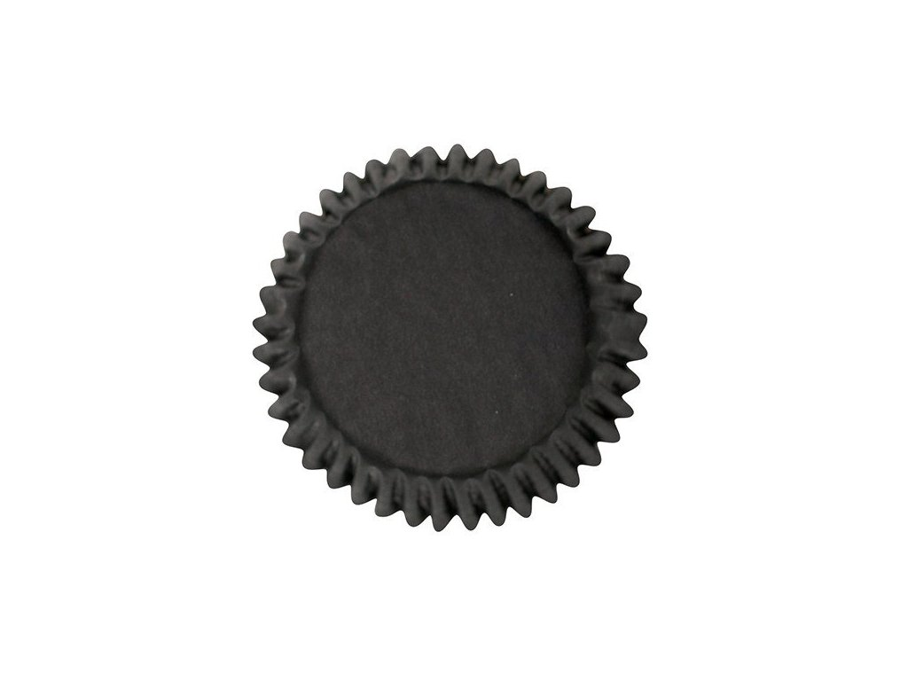Cukrářské košíčky 47x39mm, černé CakeStar, 50ks