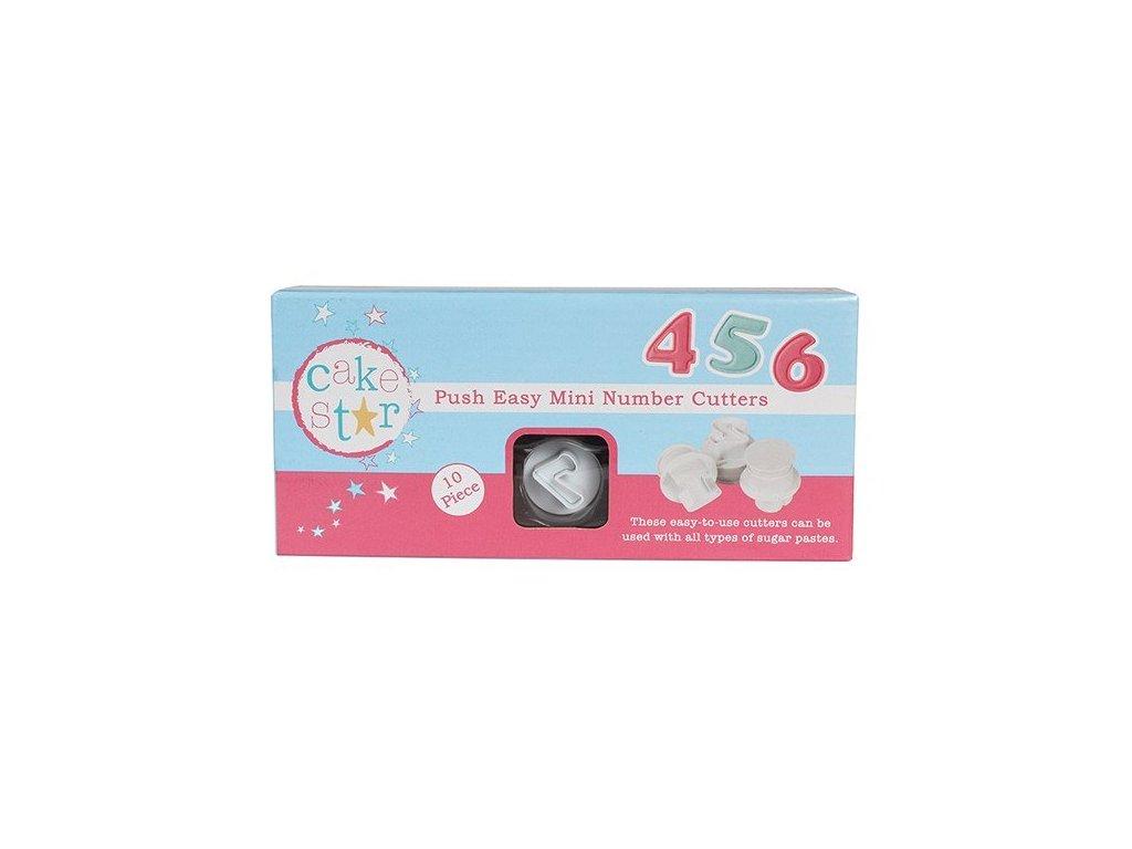 Vypichovače čísla MINI 2cm, Cake Star