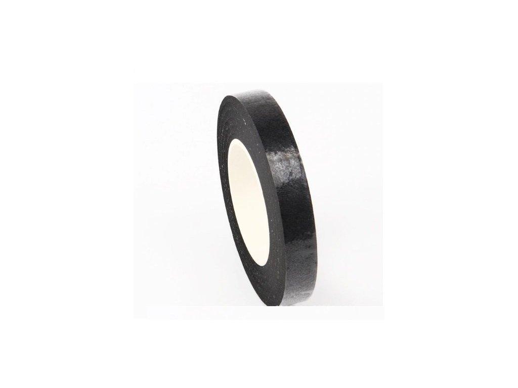 Floristická páska 12mm/27m, černá