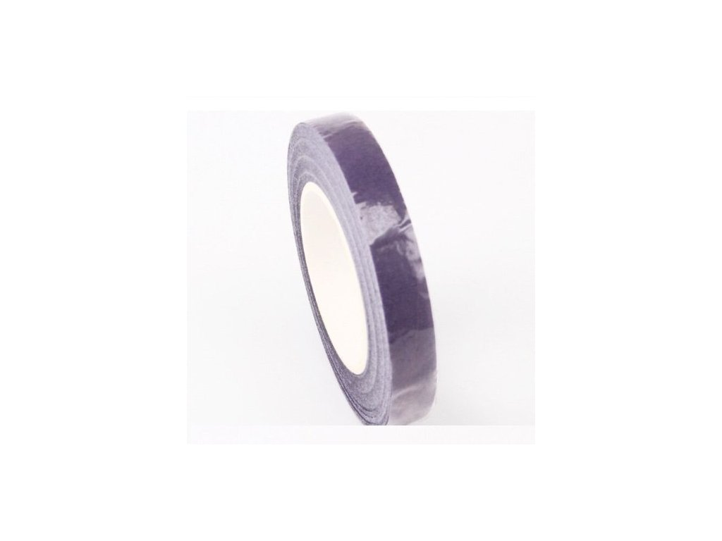 Floristická páska 12mm/27m, fialová