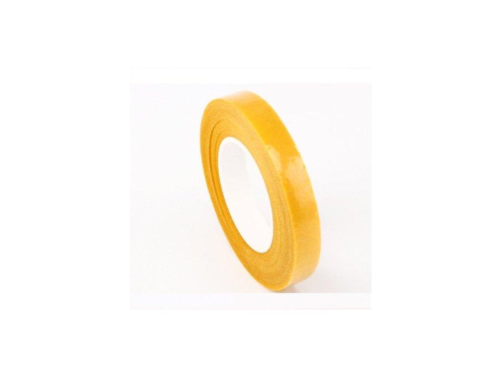 Floristická páska 12mm/27m, oranžová