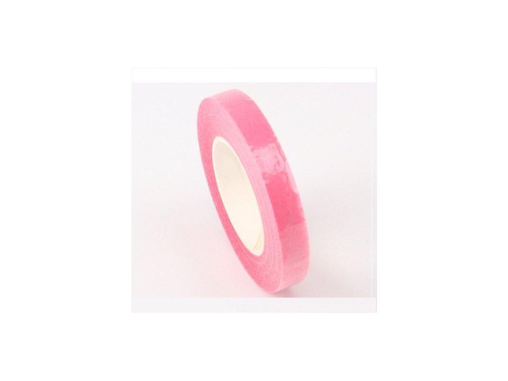 Floristická páska 12mm/27m, růžová