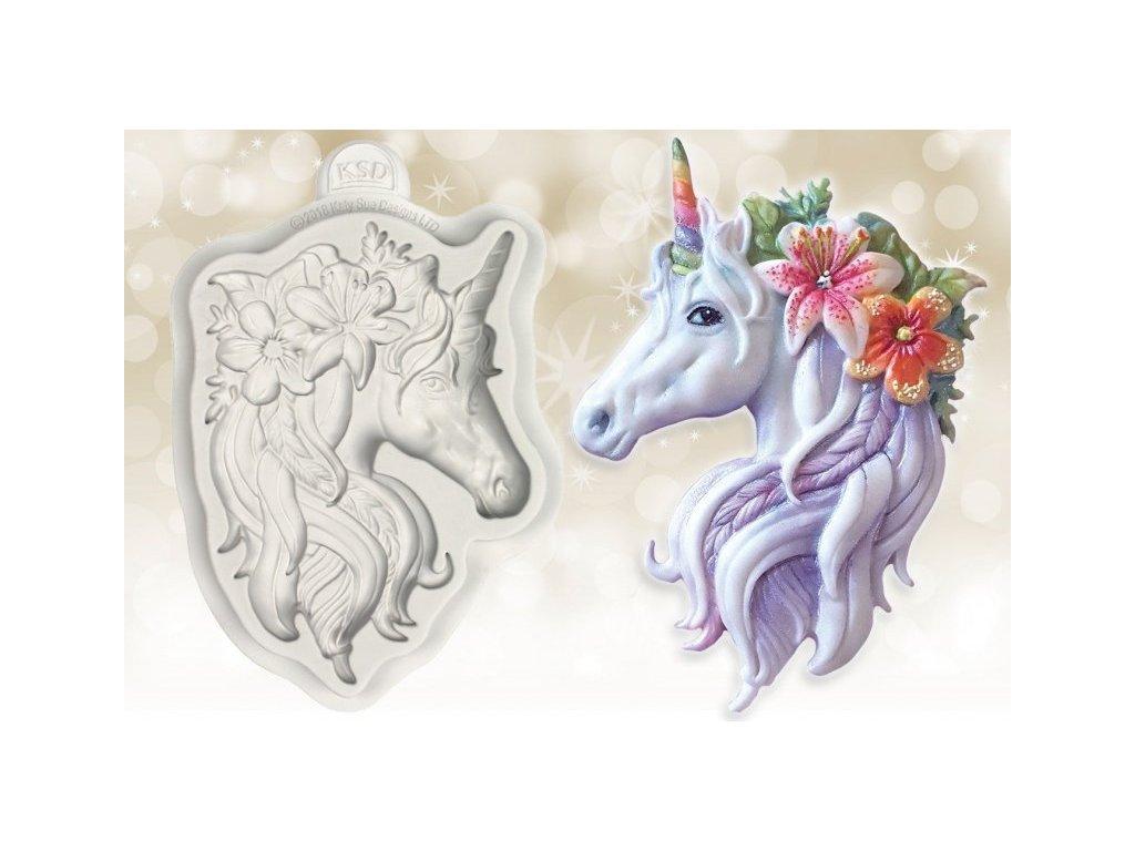 Katy Sue silikonová formička Unicorn Head
