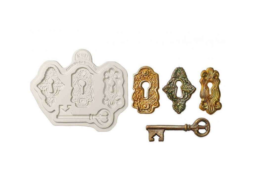 Katy Sue silikonová formička Locks and Keys
