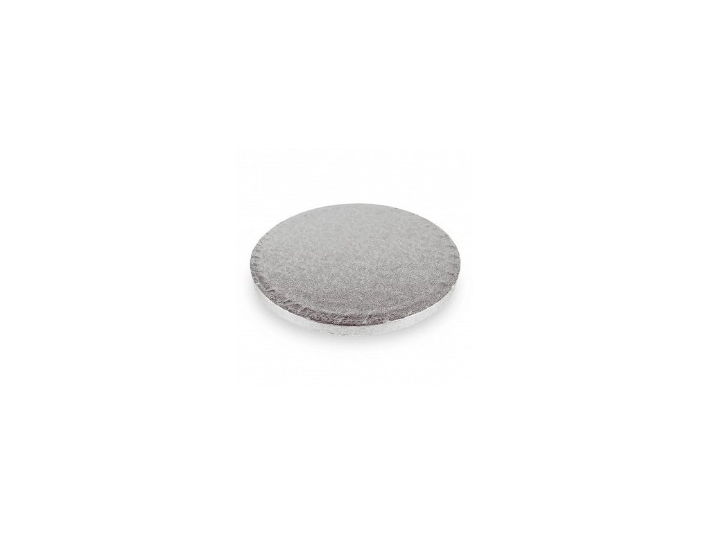"Pevná stříbrná podložka, 12mm, pr. 50cm (20"")"