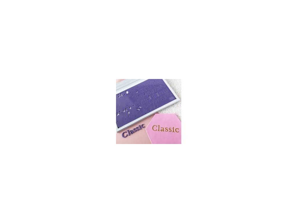 Vytlačovací abeceda Classic Sweet Stamp