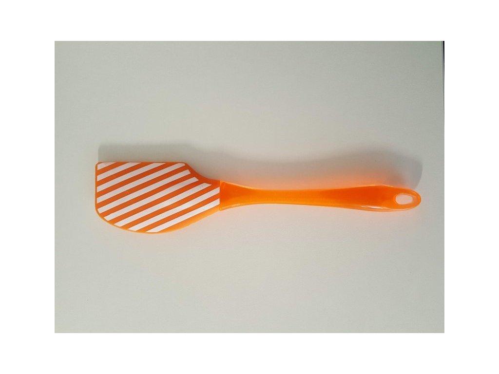 Silikonová stěrka oranžová