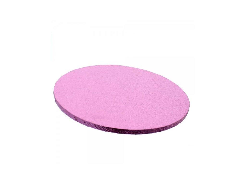 """Pevná Light Pink podložka, 12mm, pr. 30,5cm (12"""")"""