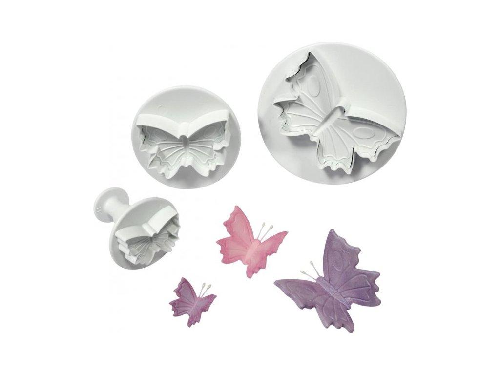 Vypichovače Butterflies - motýli, 3ks, Cake Star