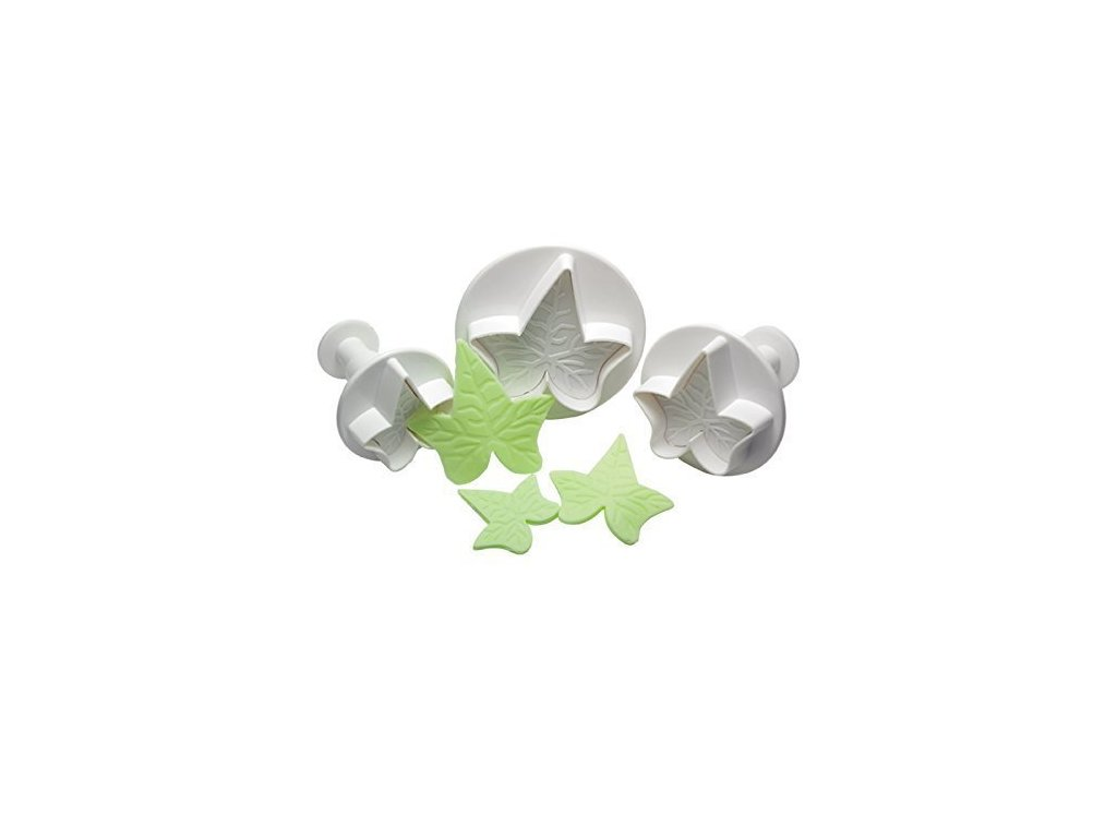 Vypichovače Ivy Leaf - břečťan, 3ks, Cake Star