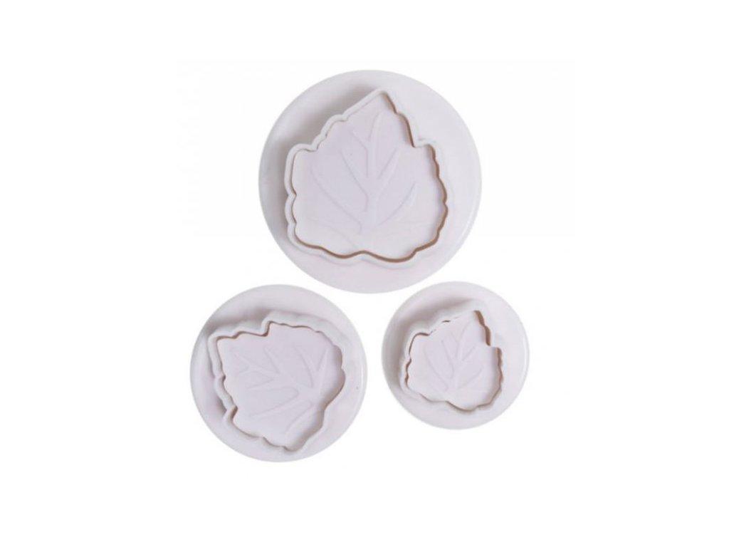Vypichovače Leaf II. - listy, 3ks, Cake Star