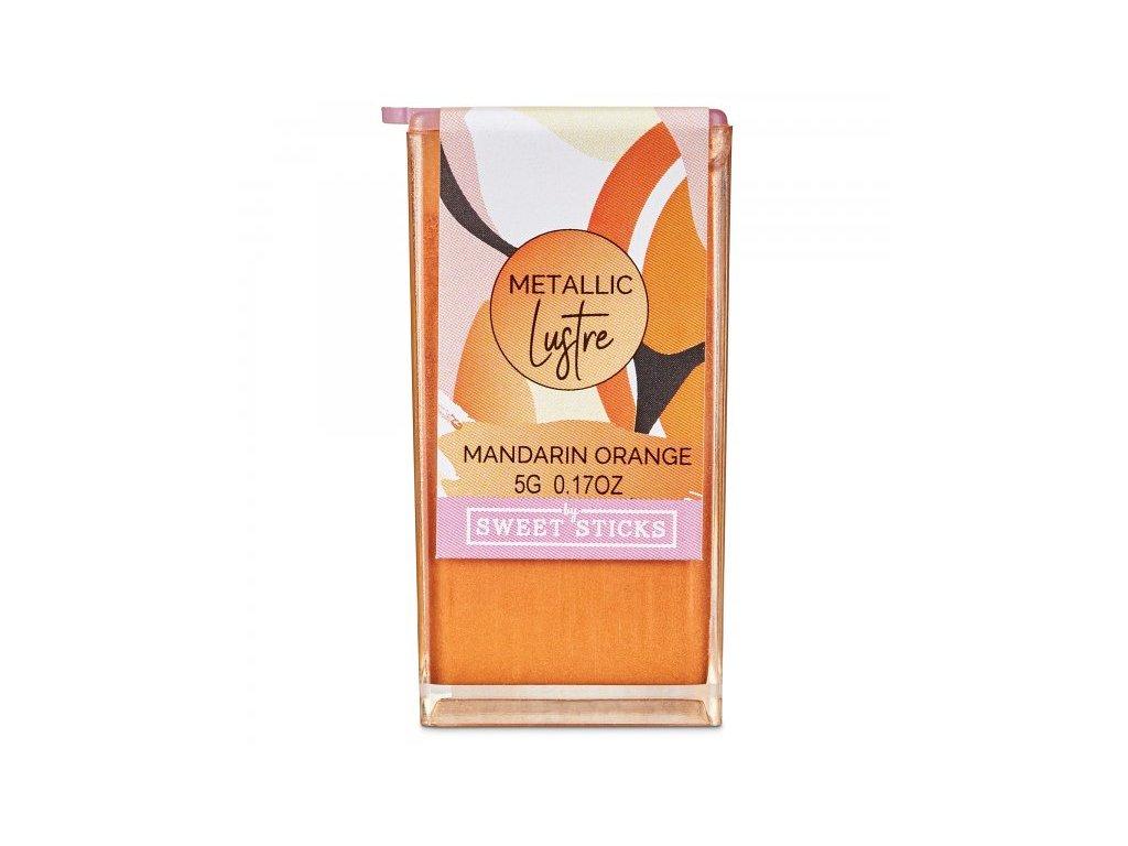 Prachová metalická barva Mandarin Orange, Sweet Sticks, 5g