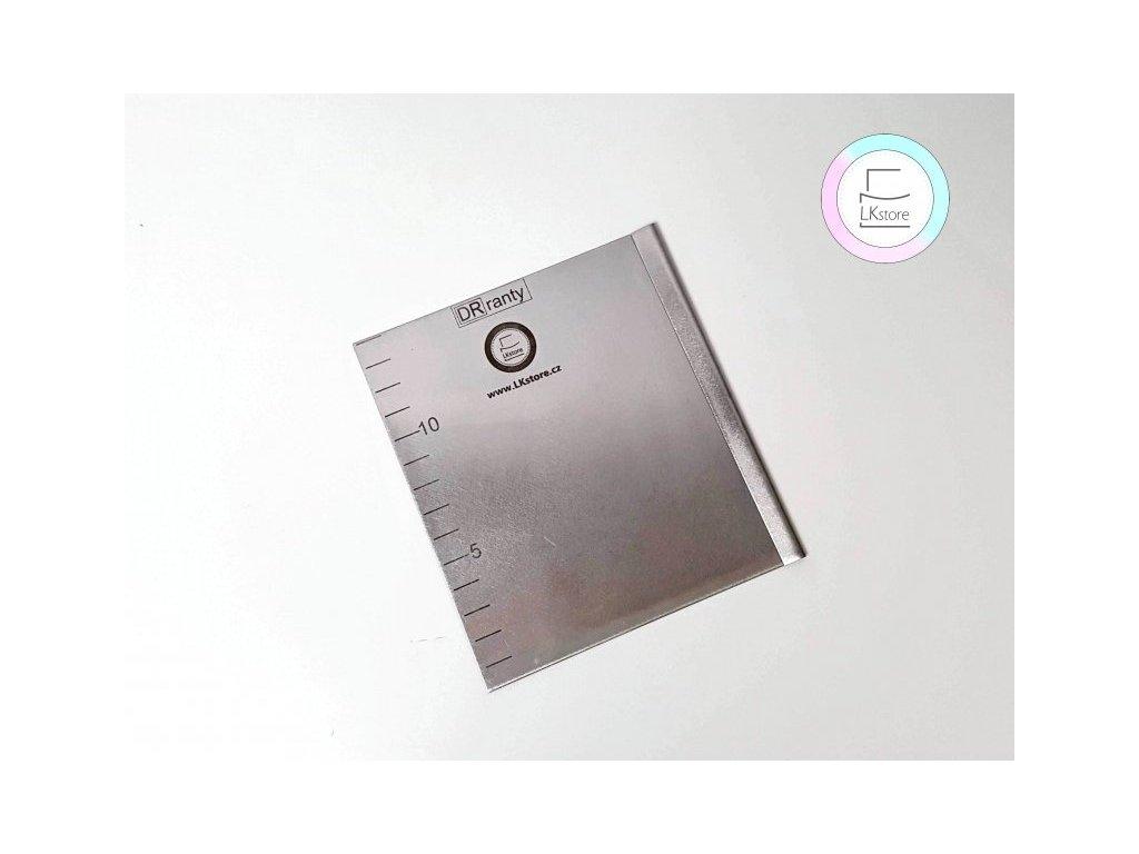Nerezová cukrářská karta Japonka, 14x12,5 cm