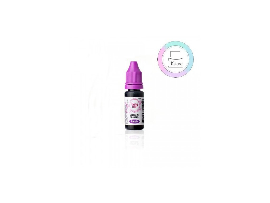 Tekutá barva do čokolády Purple (10ml), Tasty Me