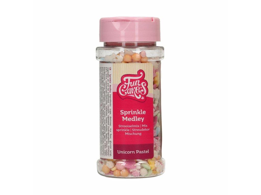 Cukrové zdobení FunCakes, Pastel Unicorn 50g