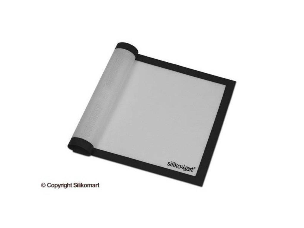 Silikonová podložka se skelným vláknem Silikomart 40 x 30 cm