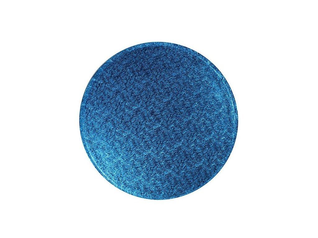 "Pevná Blue podložka, 12mm, pr. 25,5cm (10"")"