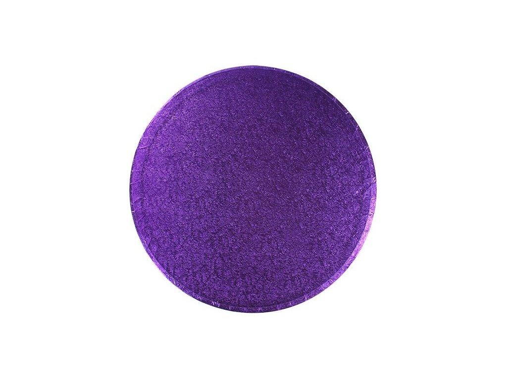 "Pevná Purple podložka, 12mm, pr. 25,5cm (10"")"