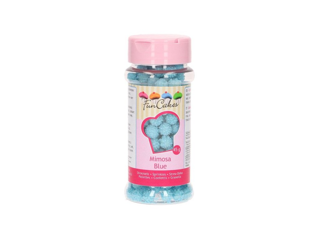 Cukrové zdobení FunCakes, Mimosa Blue 45g