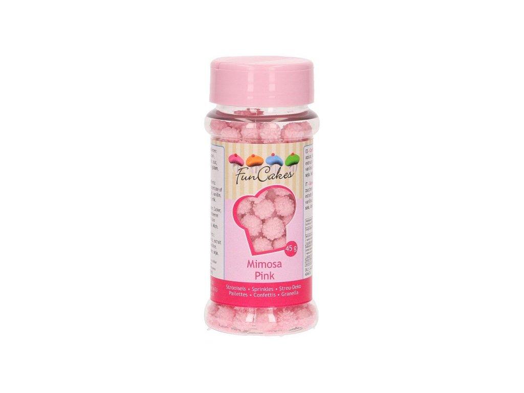 Cukrové zdobení FunCakes, Mimosa Pink 45g