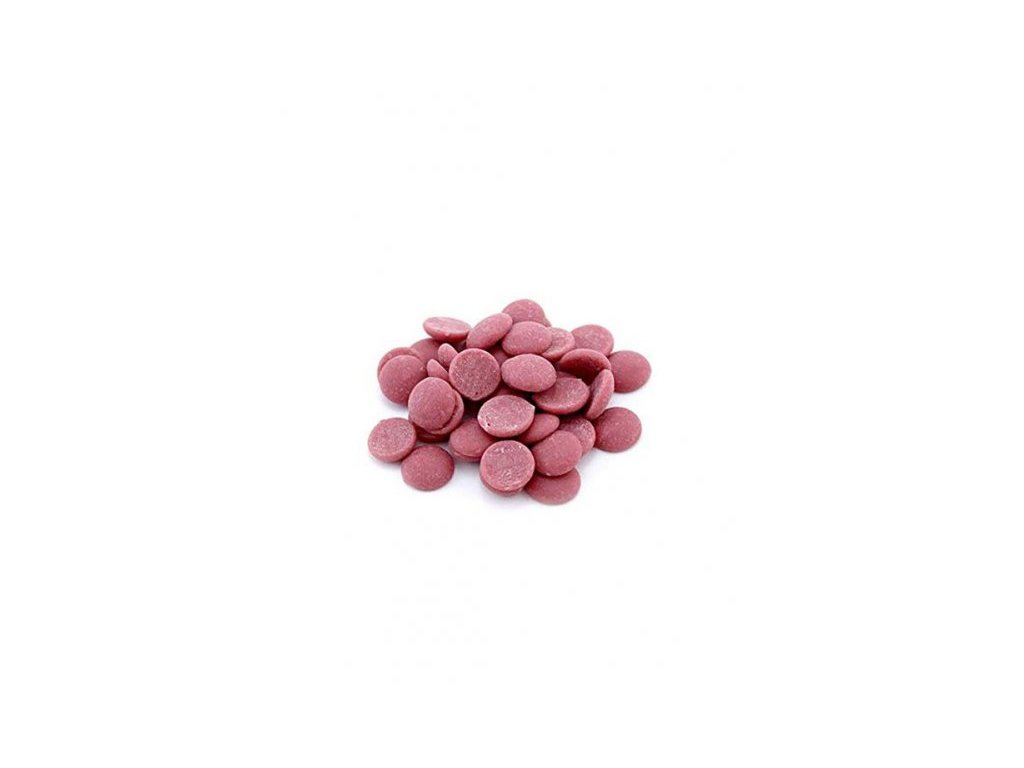 Čokoláda RUBY 47,3%, Callebaut, 0,5kg (rozvážená)
