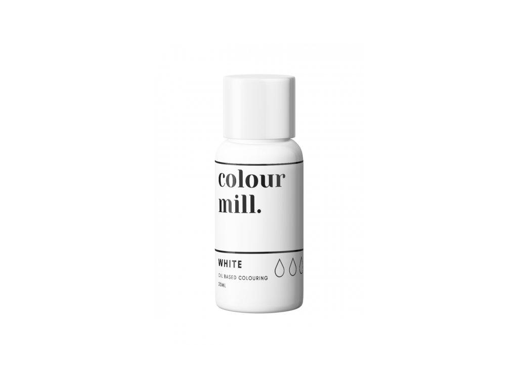 Colour Mill olejová barva 20ml - White