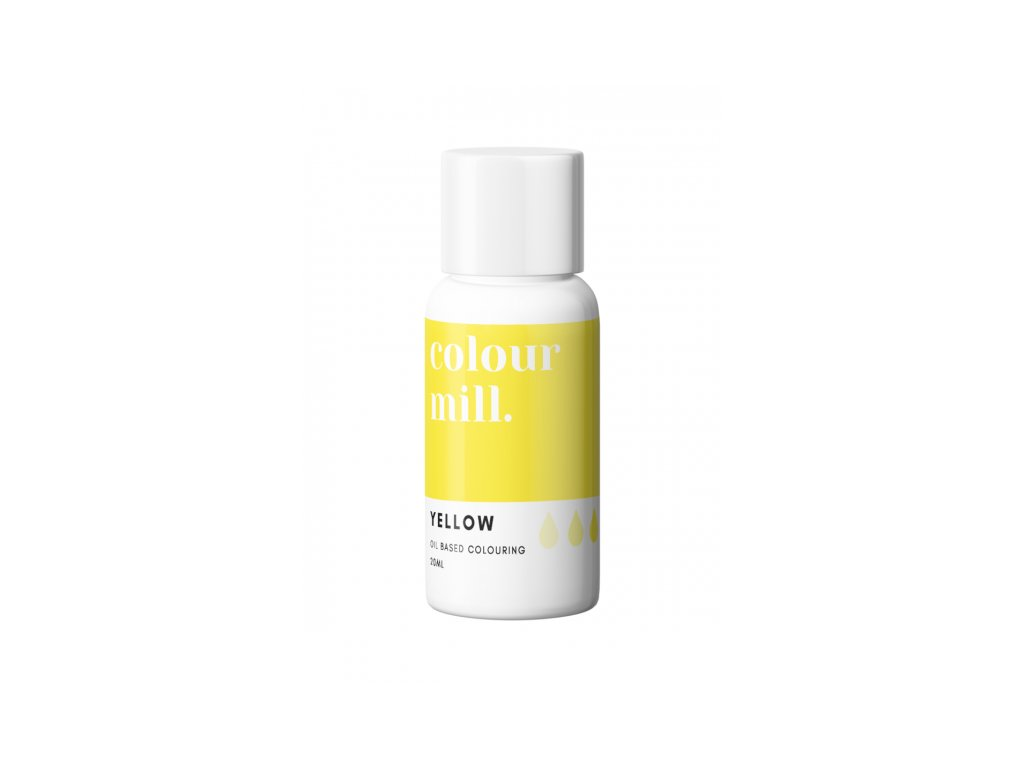 Colour Mill olejová barva 20ml - Yellow