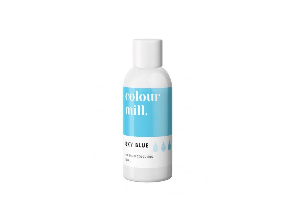 Colour Mill olejová barva 100ml - Sky Blue