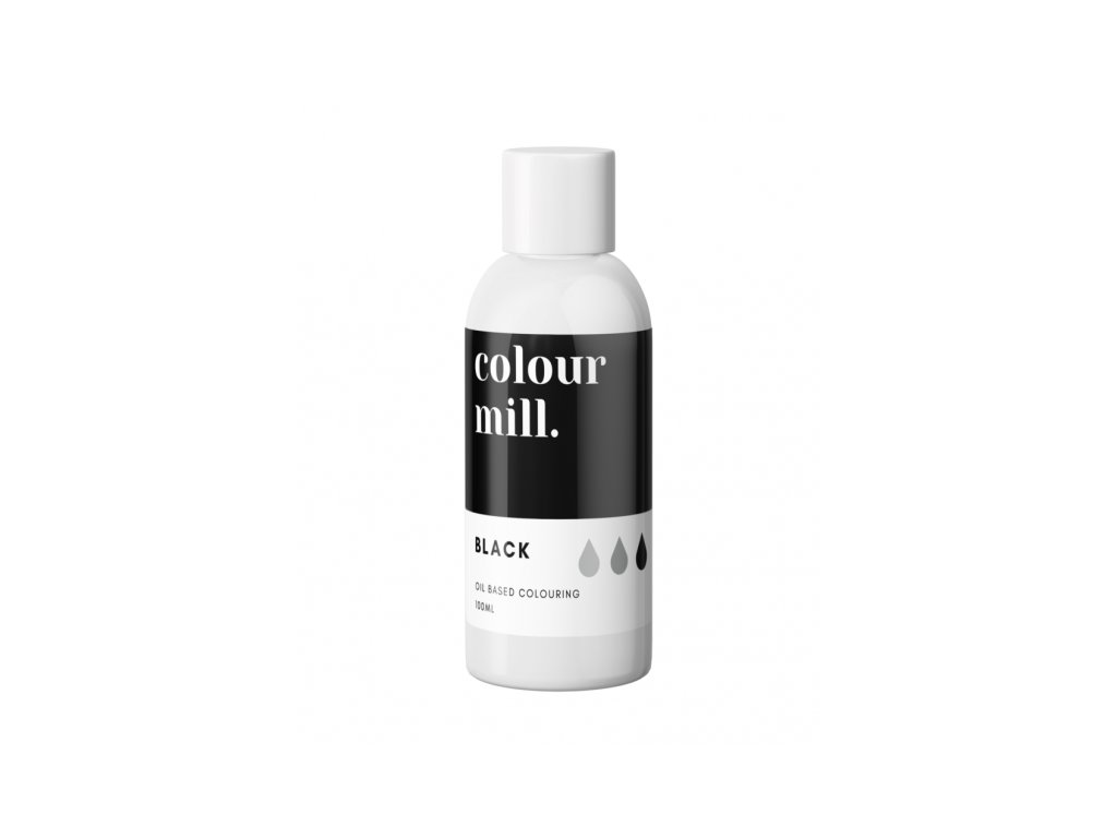 Colour Mill olejová barva 100ml - Black