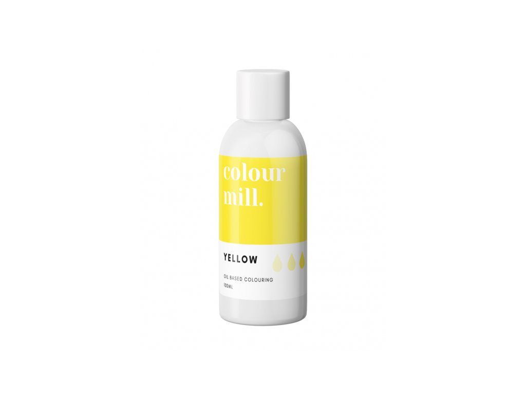 Colour Mill olejová barva 100ml - Yellow