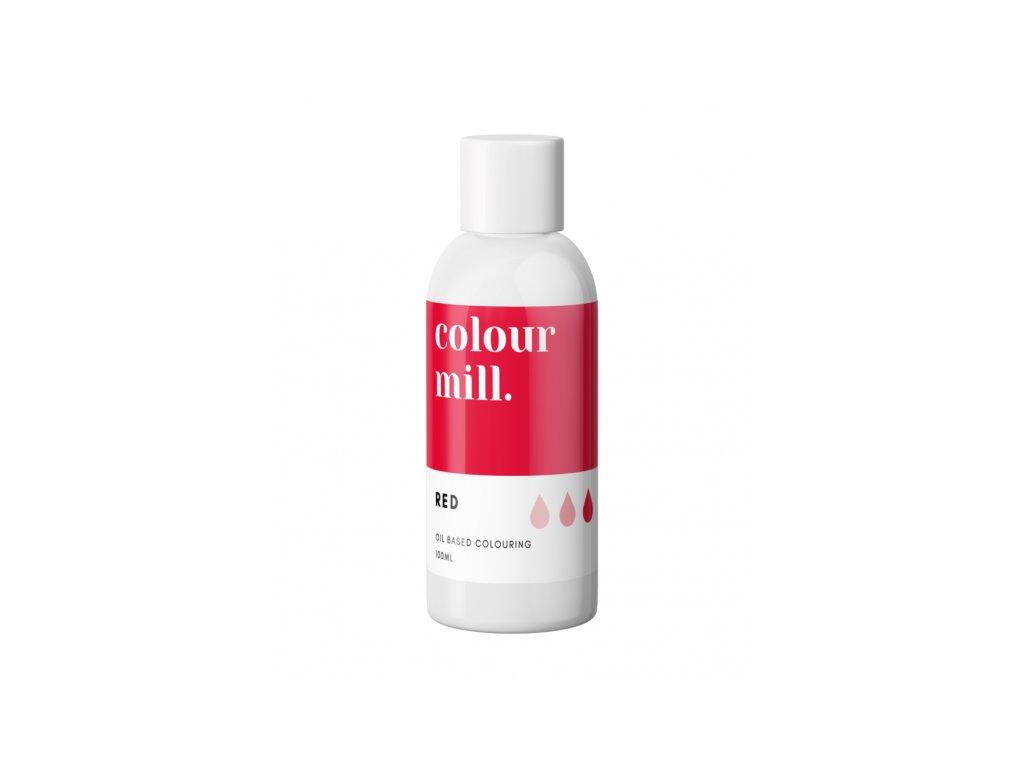 Colour Mill olejová barva 100ml - Red
