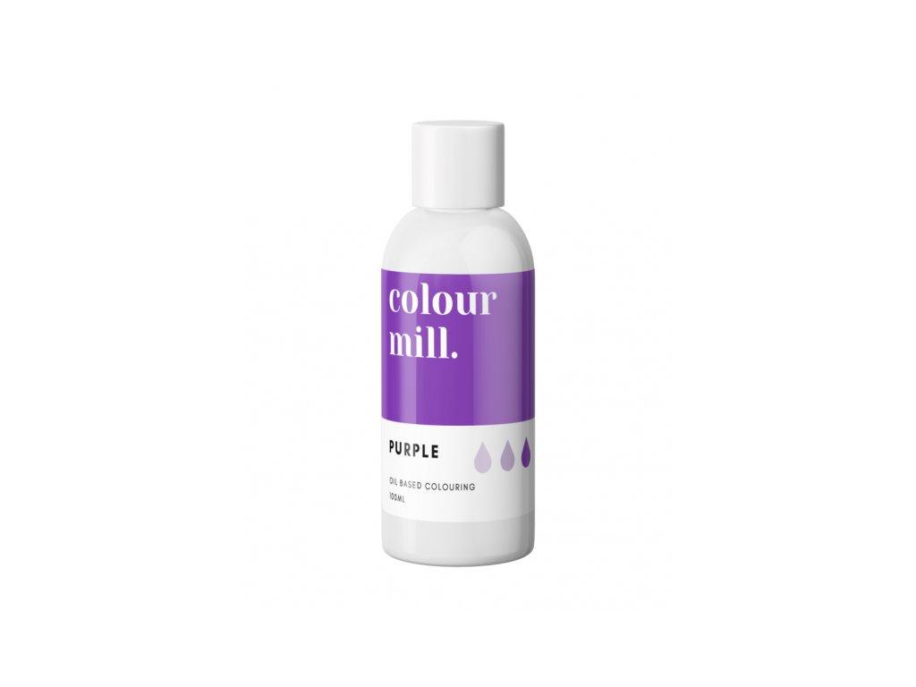 Colour Mill olejová barva 100ml - Purple