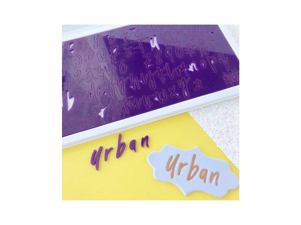 Vytlačovací abeceda Urban, Sweet Stamp