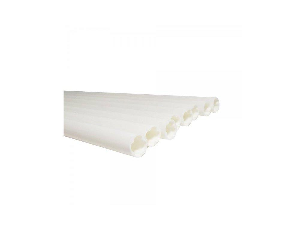 Plastové duté pevné výztuže pr. 15mm, 40cm, 8ks