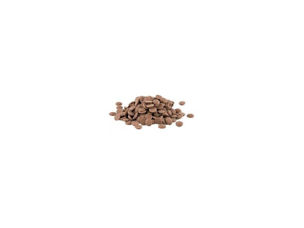 Mléčná čokoláda 33,6%, Callebaut 823, 1kg (rozvážená)