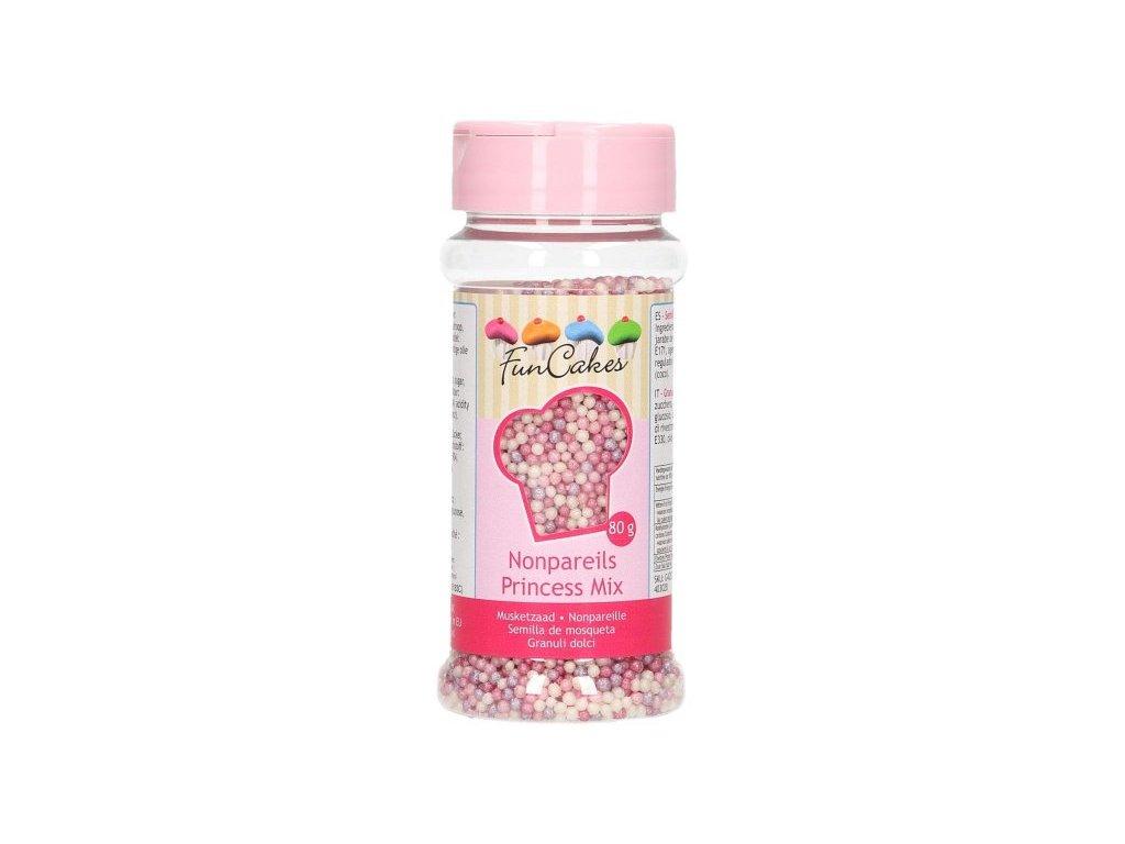 Cukrové zdobení FunCakes, Princess Mix 80g