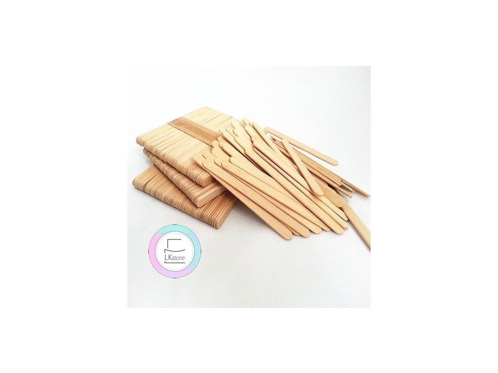 Dřevěná dřívka na nanuky mini Silikomart, 50 ks