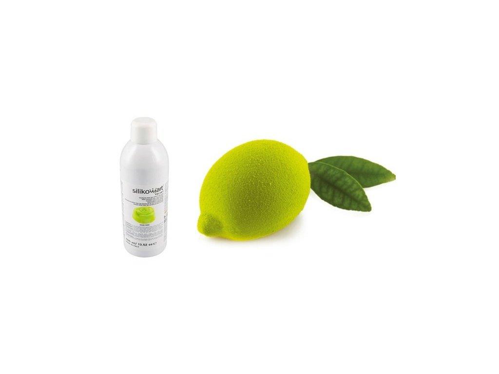 Sprej Velvet Lime Green Silikomart, 400 ml