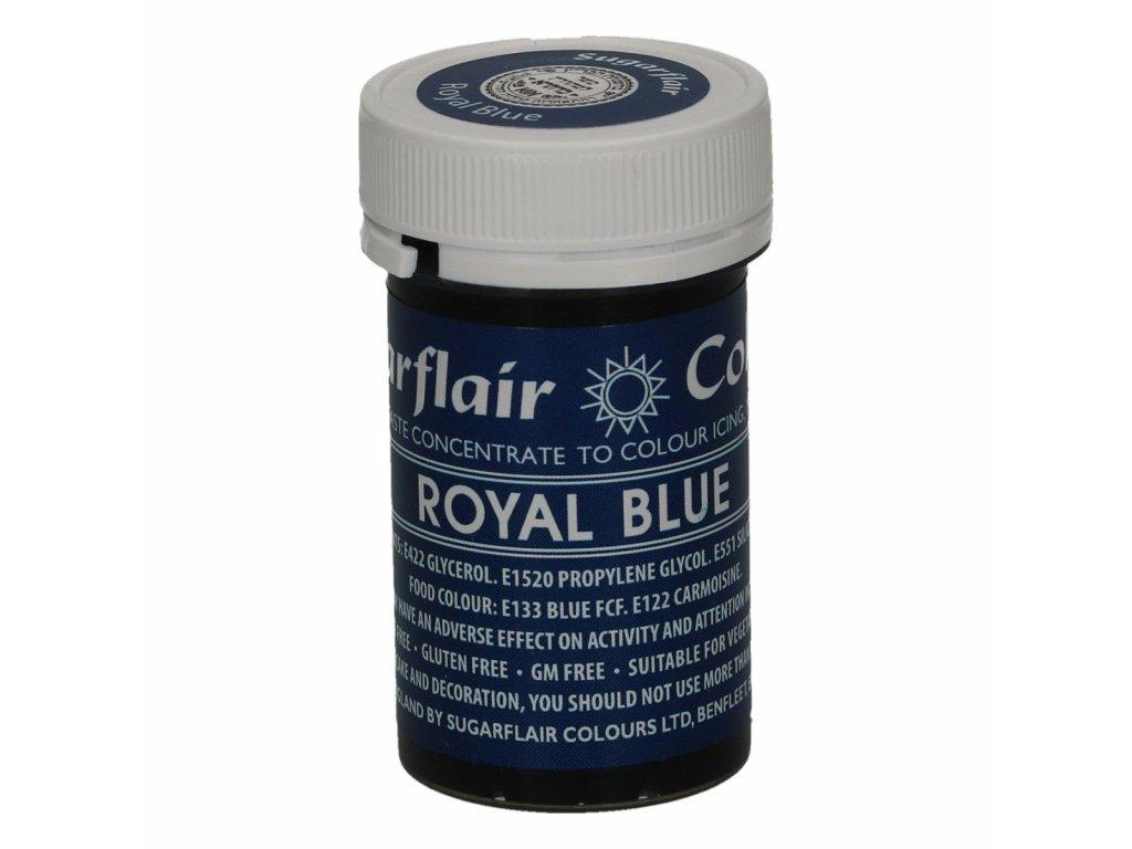 Gelová barva Sugarflair Spectral ROYAL BLUE, 25g