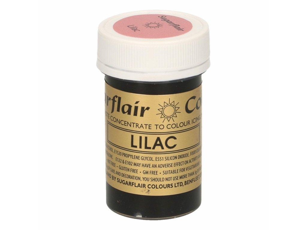 Gelová barva Sugarflair Spectral LILAC, 25g