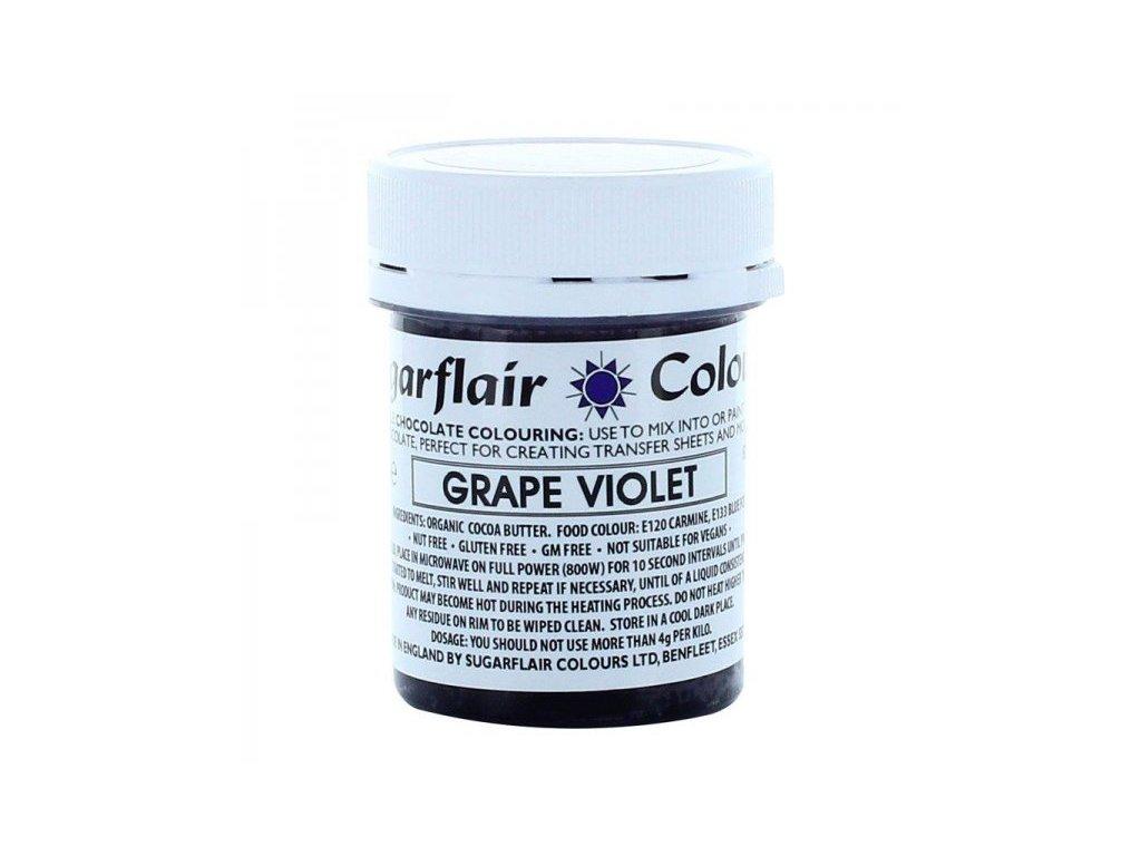 Sugarflair barva do čokolády GRAPE VIOLET, 35g